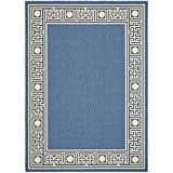 Safavieh Courtyard Collection CY5143C Blue and Beige Indoor/Outdoor Area Rug (4′ x 5'7″) Review