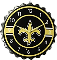 NFL Unisex Bottlecap Clock