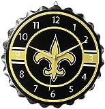 : FOCO NFL Unisex Bottlecap Clock