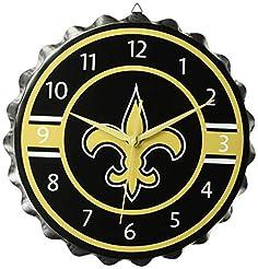 FOCO NFL Unisex Bottlecap Clock