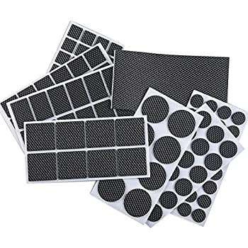 Foomext 129 Pieces Non Slip Furniture Pads Heavy Duty