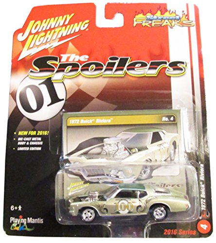 Johnny Lightning Street Freaks The Spoilers 2016 Series No.4 Champagne colored 1972 Buick -