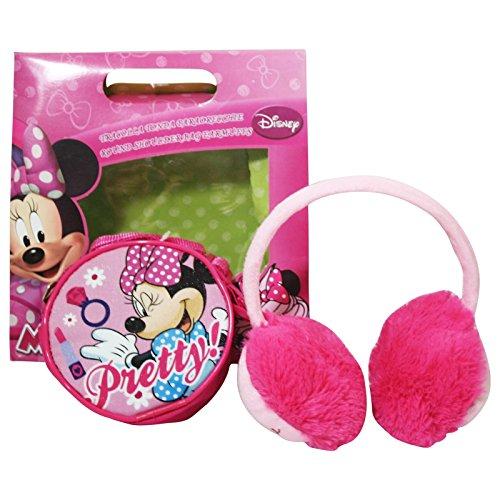 Disney Minnie Bolso Bandolera Orejeras Estuche de Regalo
