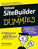 Yahoo! SiteBuilder for Dummies, Richard Wagner, 0764598007