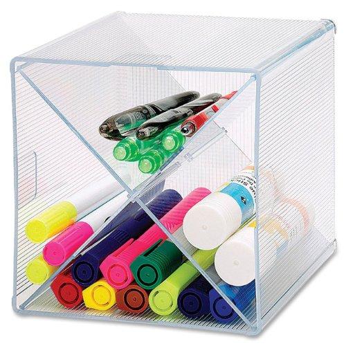 Sparco Storage Organizer, X-Cube, 6 x 6 x 6 Inches, Clear (SPR82979) - 6x6x6 Cubes