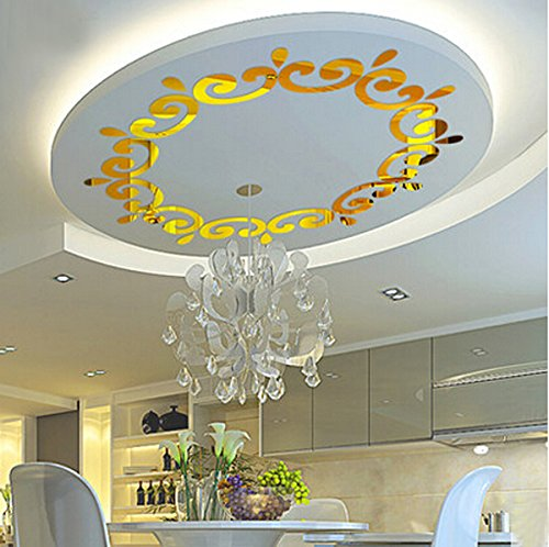 AlrensTMLuxury-Multiparts-1-Flower-Wreath-Acrylic-Mirror-3D-Wall-Stickers-Lighting-Surrounding-Decor-Living-Room-Dining-Room-Ceiling-Decor-Home-Decoration-Removable