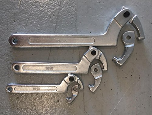 VKRP Enterprises ATV UTV Motorcycle Racing 6 PC Hook Adjustable Spanner Wrench Set 3/4