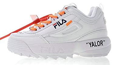 X Off Disruptor 2 Running Orange White LI FILA White Chaussures 4RqCw51