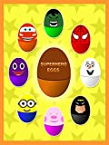 Learn Colors With Superhero Surprise Eggs