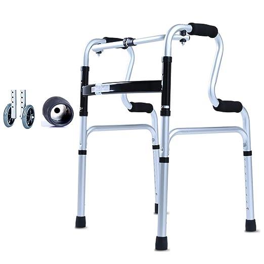MXueei caminante Andador Multifuncional Andador Sentado en la Mesa ...