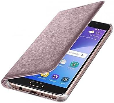 Samsung Flip Wallet- Funda para Samsung Galaxy A5 2016, color rosa: Amazon.es: Electrónica