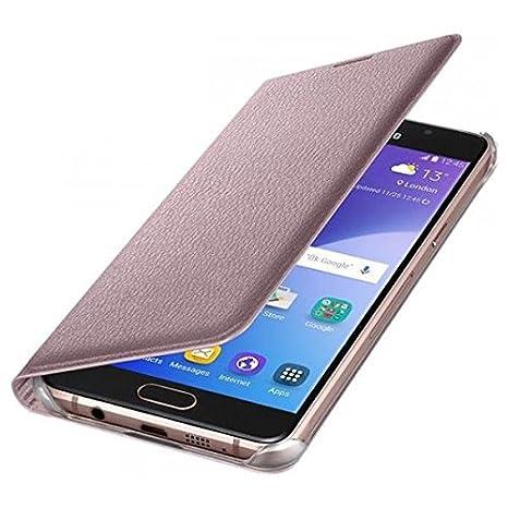 Samsung Flip Wallet- Funda para Samsung Galaxy A5 2016, color rosa