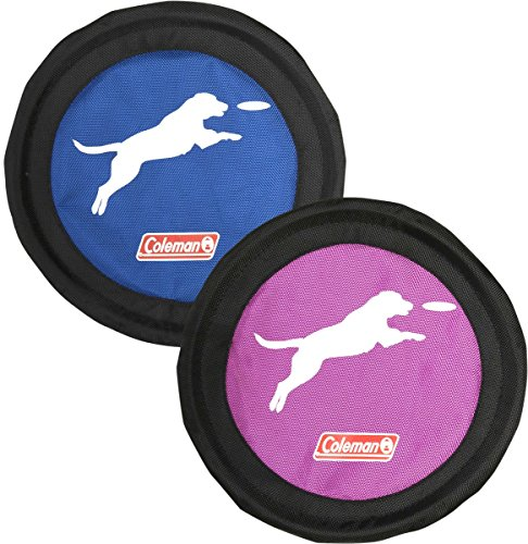 Coleman Dog Flying Disc Frisbee, Blue/Purple' by Coleman