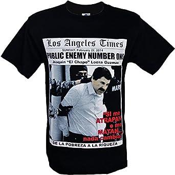 Men 39 s joaquin el chapo guzman loera shirt for Chapo guzman shirt brand