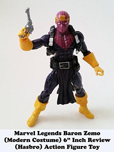 Review: Marvel Legends Baron Zemo (Modern Costume) 6