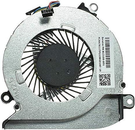 HP p/n: 812109-001 - Ventilador de CPU para Ordenador portátil: Amazon.es: Informática