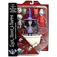 Diamond Select Toys The Nightmare Before Christmas: Lock, Shock & Barrel Action Figure Set