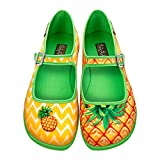 Hot Chocolate Design Chocolaticas Pineapple Women's Mary Jane Flat