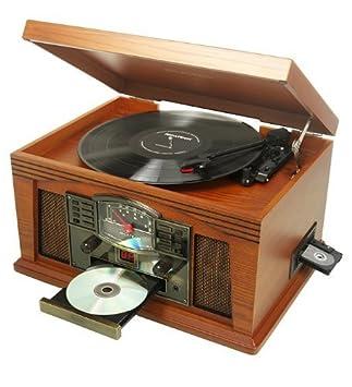 Ricatech RMC200 Cambridge Tocadiscos, reproductor de CD, láser ...