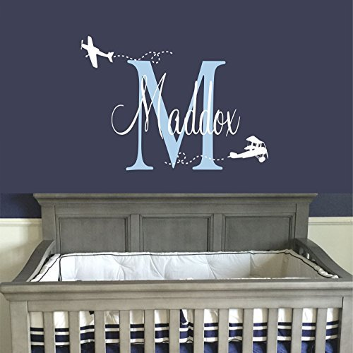 Baby Boy/'s Custom Decal Vinyl Sticker With Your Text Or Name For Wall Car Laptop