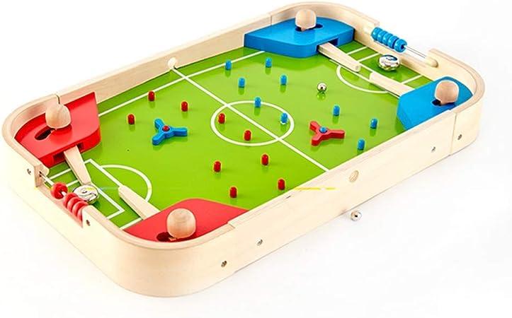 SYXX Los niños mesa de escritorio de fútbol, mesa de pinball de juguete for niños Juego de Mesa, Manual de fútbol, fútbol de mesa de la máquina Juego de mesa, Apto for