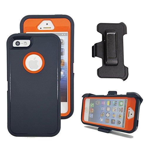 iPhone SE Holster Case, Harsel Defender Heavy