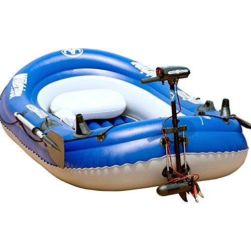 釣り ゴムボート フィッシングボート エレキモーターセット ワイルドリバー279 エレキモーターセット 2人乗りの商品画像