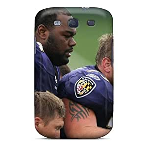 New Arrival Case Cover With DTg2988HlXk Design For Galaxy S3- Baltimore Ravens