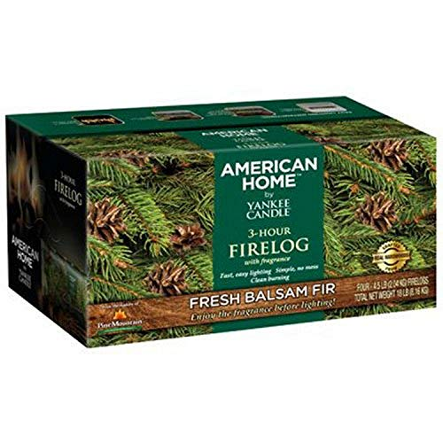 Pine Mountain American Home by Yankee Candle 3- Hour Firelogs