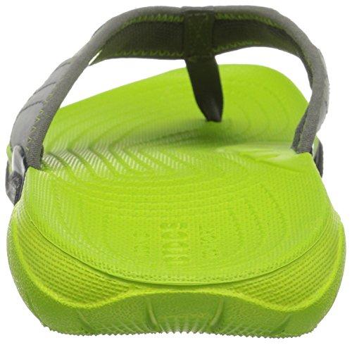 Crocs volt Gpt Green Uomo Swiftwater Grigio Pantofole vgr M graphite Flip rqRrxCzwB