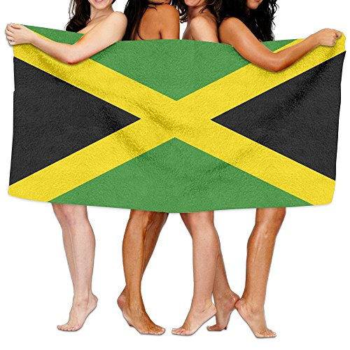 Majestic Egyptian Cotton Bath Towel Set (Jamaica Majestic FlagLong Staple Cotton Towel,Lightweight High Absorbency Multipurpose Towel)