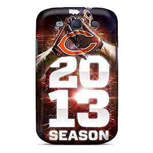 Ashustom2o68 Fashion Protective Chicago Bears Cases Covers For Galaxy S3