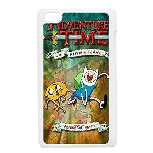 Cute TPU Adventure Time iPod Touch 4 Case White