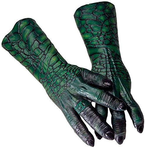 Rubie's Costume Co Men's Green Lantern Movie Tomar-Re Deluxe Latex Hands, Multi, One Size (Green Lantern Costume For Men)