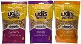 Udi's Gluten Free Granola Variety 3 Pack Original Vanilla and Cranberry
