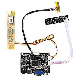 Tarjeta de regulador HDMI VGA AV LCD para 14.1
