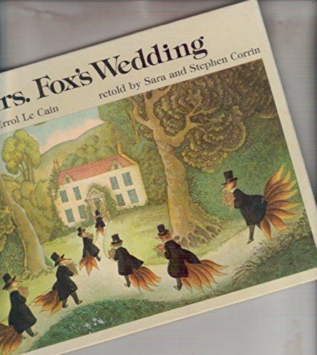 Fox S Wedding.Mrs Fox S Wedding Picture Puffin S Amazon Co Uk Sara Corrin