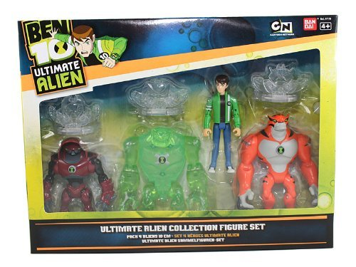Tennyson Alien Collection (Ben 10 Ultimate Alien Collection Figure Set [Toy] by Bandai)