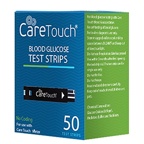 Care Touch Blood Glucose Test Strips (50 Count) for Use with Care Touch® Monitor