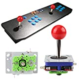 Hztyyier 1-Player Arcade Buttons and Joystick DIY