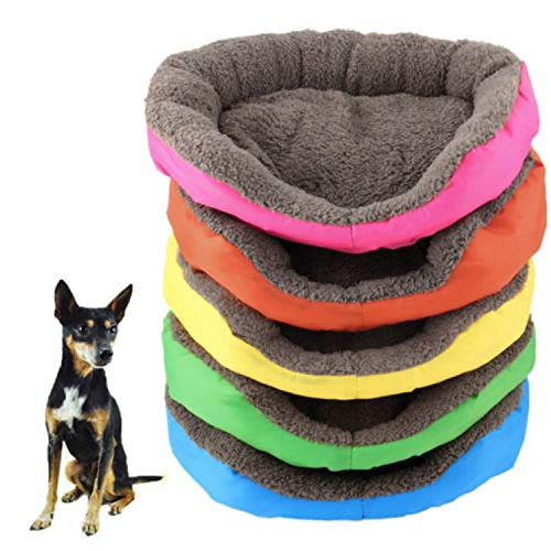 Stack Oak (Limit 100 Dog Beds/Mats Pet Dog Cat Bed Mat Dog Supplies Durable Kennel Doggy Puppy Cushion Basket Stack Pad Hot,Red,M)