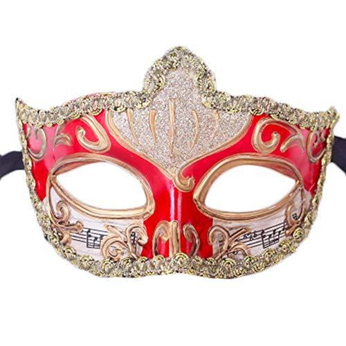 Half Face Retro Mask Men Party -