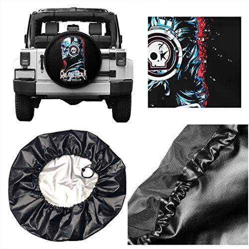 One Ok Rock ワンオーケーロック へタイヤカバー タイヤカバー スペアタイヤカバー タイヤ袋 へタイヤバッグ タイヤトート へタイヤ ホイール 保管 タイヤ 収納 に便利 防紫外線 防塵 防水 厚手生地 劣化対策 長持ち