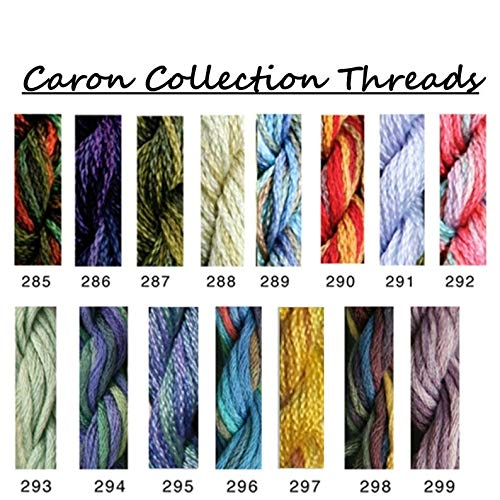 (Caron Collections Waterlilies, Hand-Dyed Threads. Color #291, Clematis)