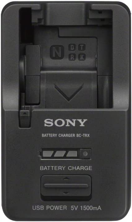 Sony BCTRX Battery Charger for X/G/N/D/T/R and K Series Batteries (Black) : Digital Camera Battery Chargers : Camera & Photo