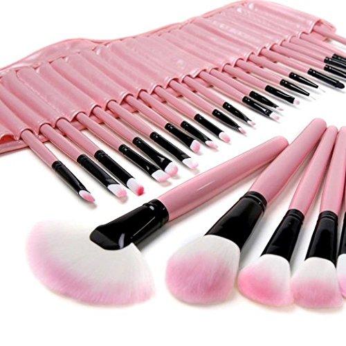 klaren-32-pcs-makeup-cosmetic-brush-set-kit-eyebrow-eyeshadow-blush-pink