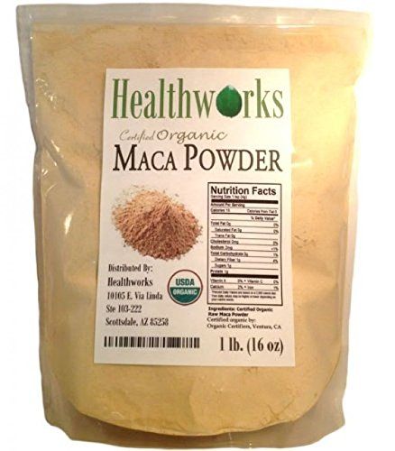 Wild-Organic-Peruvian-Maca-Root-Powder-Raw-Superfood-1-LB-New-Free-Shipping