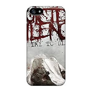 Excellent Hard Phone Cover For Iphone 5/5s (oCn12850hYoR) Provide Private Custom Lifelike Suicide Silence Pattern