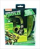 TMNT Teenage Mutant Ninja Turtles Ninja Warrior Print Over The Ear Kid Safe