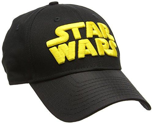 A NEW ERA Era 9Forty Star Wars Wordmark Cap, Gorra de Béisbol para Hombre, Negro, Talla única
